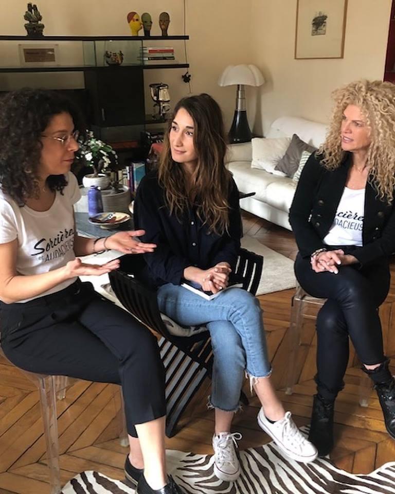 Entrevue Nathalie Lefevre Paris - 2