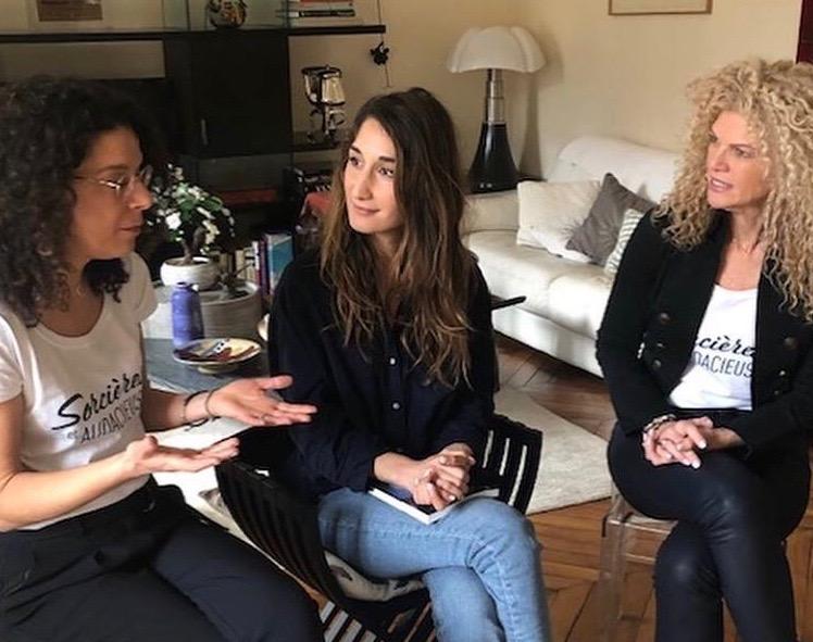 Entrevue Nathalie Lefevre Paris